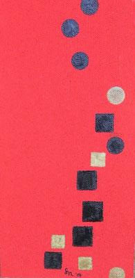"""""""Rot2004"""", Malplatte 30 x 60, in Privatbesitz"""
