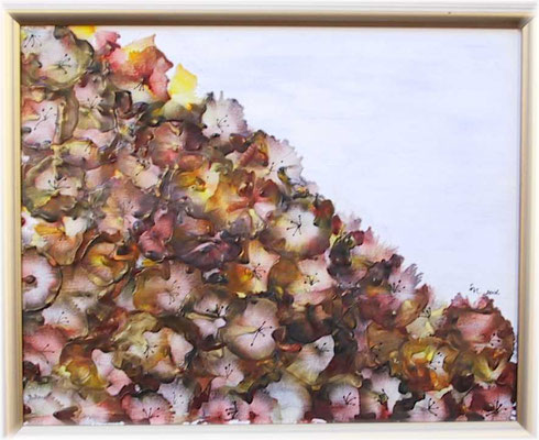 """Herbst"", Malplatte 50 x 60, 240 €"