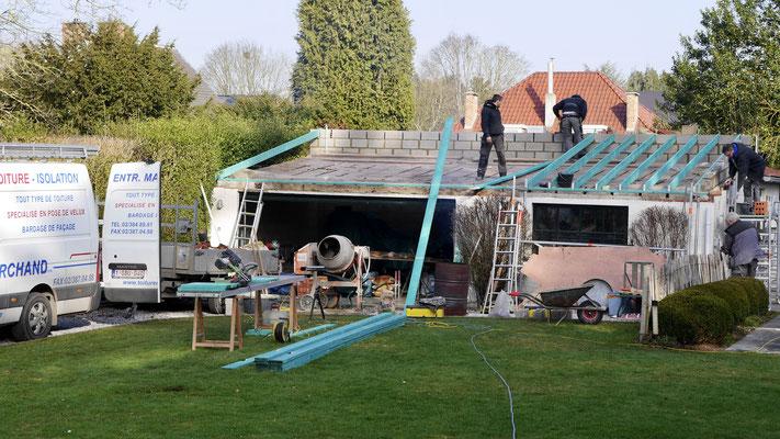 Réalisation d'un toit en tuile à Waterloo