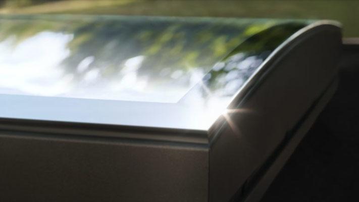 Fenêtre de toit plat Velux CurveTech
