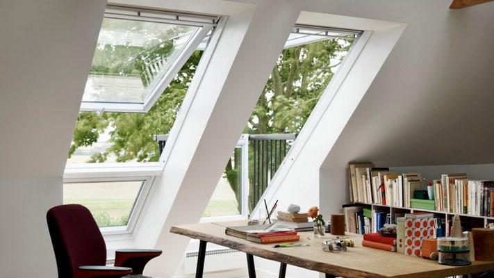 Faites entrer la lumière dans votre bureau avec les fenetres Velux en Brabant Wallon