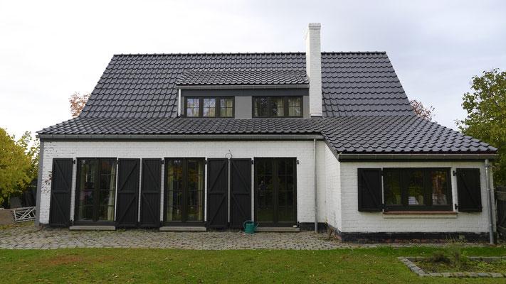 Encore une toiture Marchand parfaitement finie dans la région de Braine-l'Alleud.