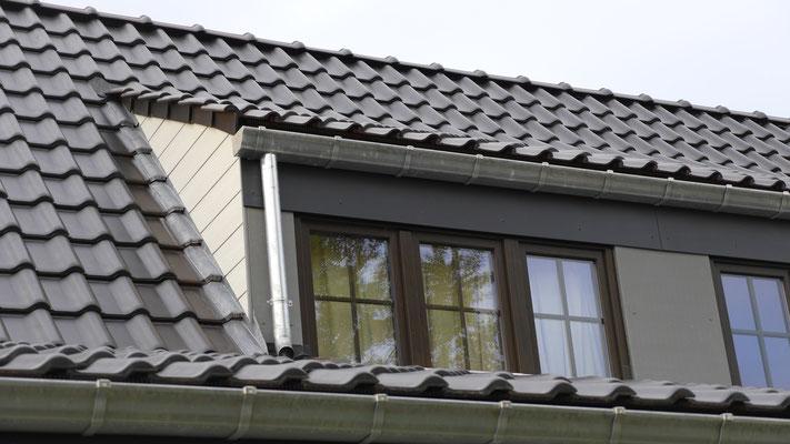 Nouveau toit en tuiles à Lillois