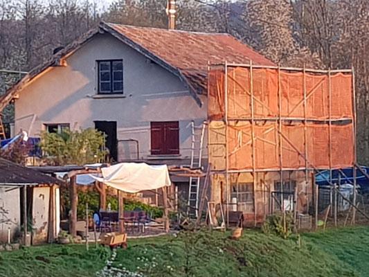 Das Dach noch ohne Lukarne
