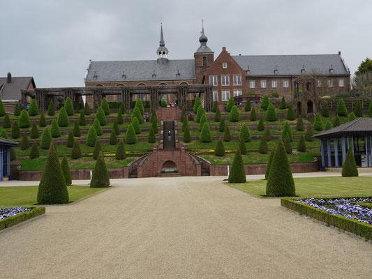 Gartenanlage von Kloster Kamp