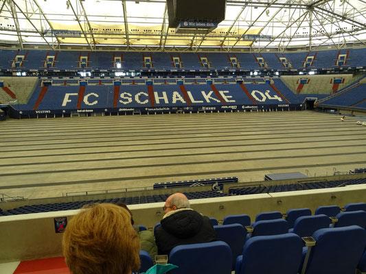 """Stadiontour """"Auf Schalke"""""""
