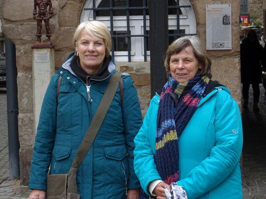 """Vor dem """"Alten Rathaus"""" in Hattingen"""