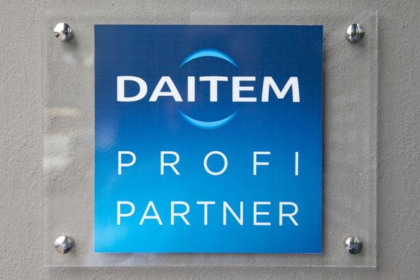 Wir sind Profi Partner von Daitem seit 20 Jahren