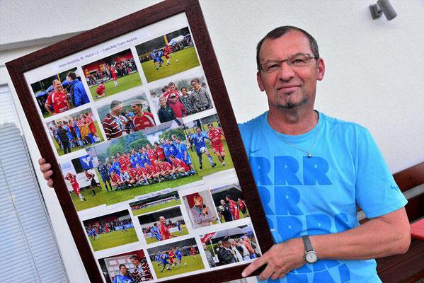 Karl Großbötzl erinnert sich an die Copa Pele 2010, als Österreichs Fußballgrößen in Sankt Martin spielten