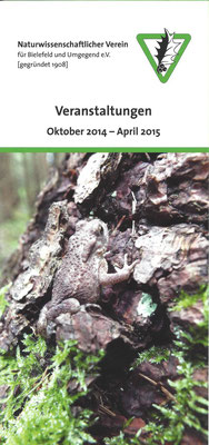 Programm Okt. 2014 - April 2015