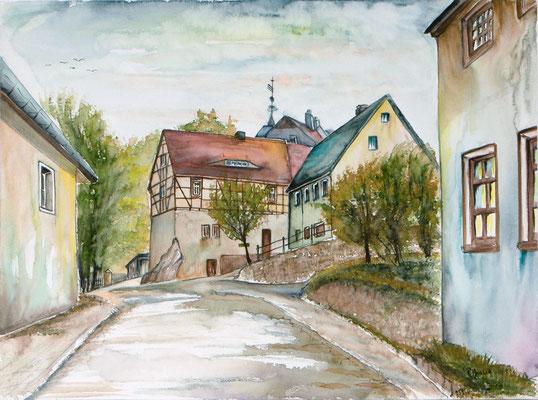 Lauenstein Torhaus 36x48