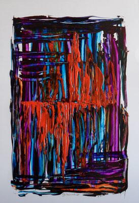 Fantasie der Farben 40x70