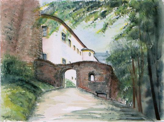 Burg Frauenstein Hinteres Tor 30x40