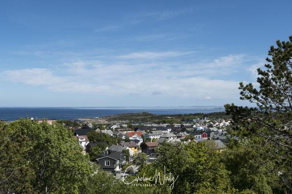 Uitzichtpunt over Kristiansund