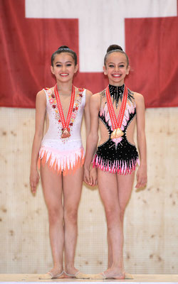 Doppeltes GOLD P3 Band: Livia und Axelle (Foto: Marco Lauper)