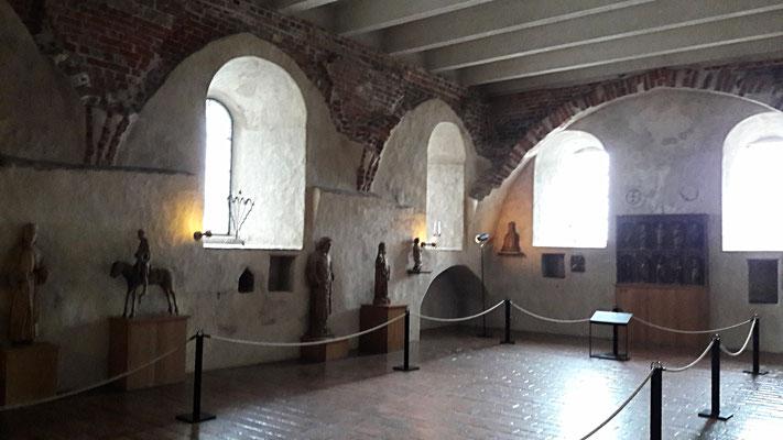 im Innern der Burg