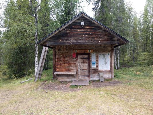 öffentlich zugängliche Wildniss-Hütte