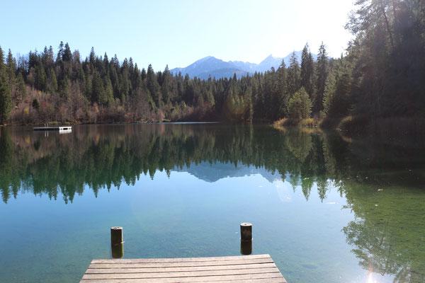 am Nachmittag am Crestasee