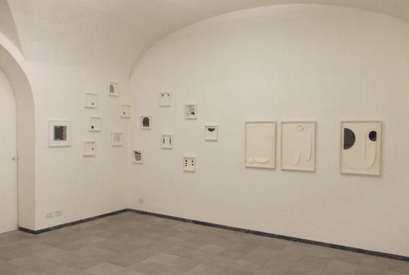 """Geometrie emotive"" opere varie in mostra presso Hyunnart Studio, Roma 2019"
