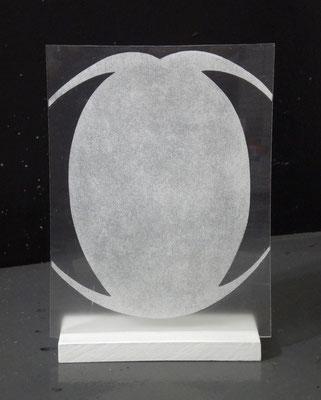 13-7 acrilico su plexiglass 2013 cm22,5x29,5