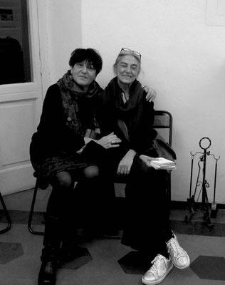 Paola Fonticoli con Luisa Elia, Triangolo Nero - Alessandria 2017