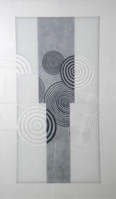 10-4 acrilico su vetro 2010 cm81,5x128,5
