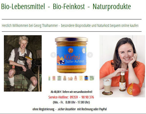 Produktentwicklung  -  biofeinkost-onlineshop