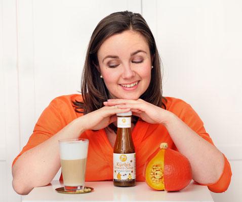 Produktentwicklung  -  Pumpkin-Spice-Sirup