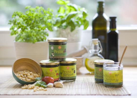 Produktentwiclung  -  Pestos von Georg Thalhammer