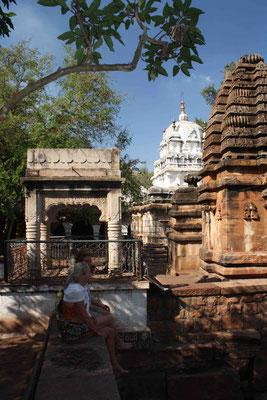 In der Nähe von Badami liegt der Tempel von Mahakuta – mein Lieblingstempel