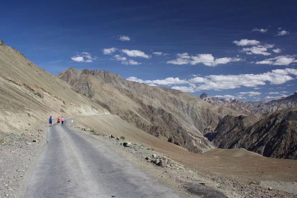Aber auch die großen Landschaften des Himalaya gilt es zu erkunden