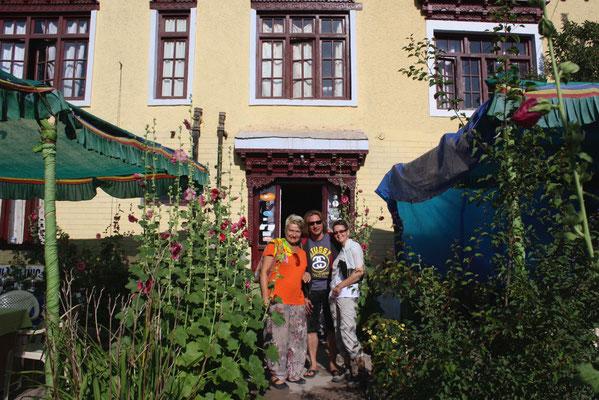 Wir nächtigen in kleinen, sauberen, landestypischen Gasthäusern