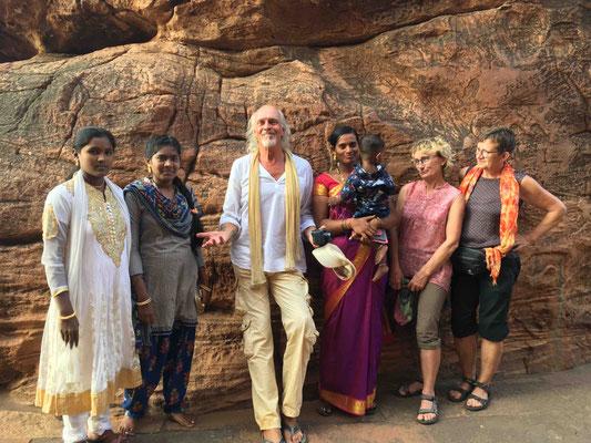 Die Inder lieben Fotos mit uns exotischen Europäern