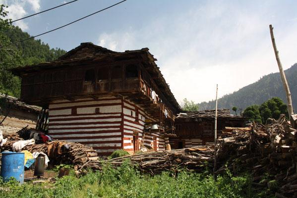 Hier begannen früher die Karawanen über die unerbittlichen Pässe des Himalaya nach Ladakh