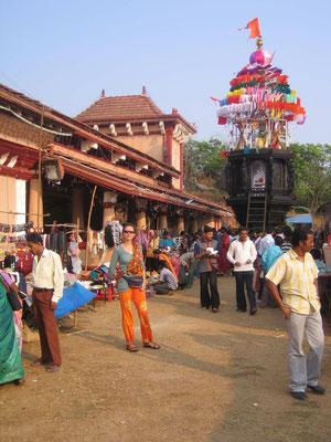 Mit etwas Glück erleben wir ein Tempelfest