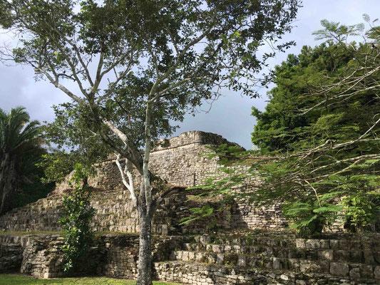 ... in den Ruinen von Dzinbanche ...