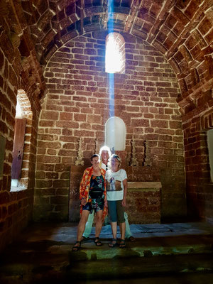 Old Goa ist Weltkulturerbe der UNESCO – dennoch finden wir auch hier Momente magischer Stille