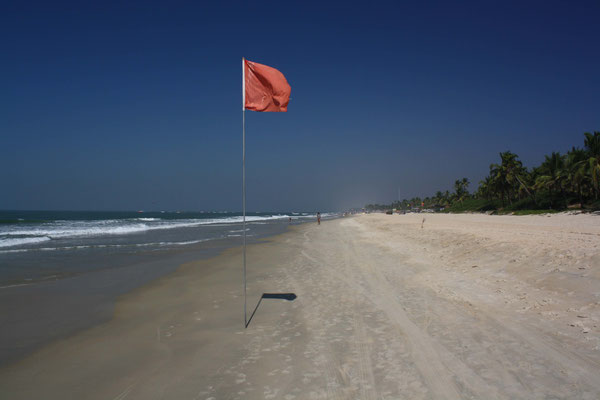 Zurück in Goa erwarten uns Strand, Sonne, Erholung ...