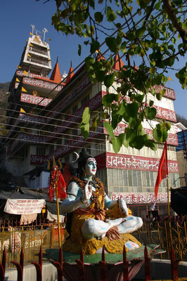 Rishikesh liegt im 'Shiva-Country', im Herrschaftsgebiet des Gotts Shiva