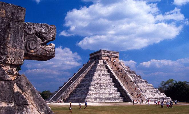Höhepunkt der Reise: Der Besuch von Chichén Itzá ...
