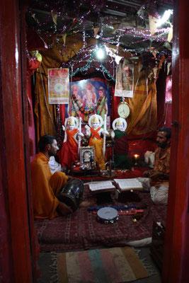 So sieht es im Inneren des Tempels aus