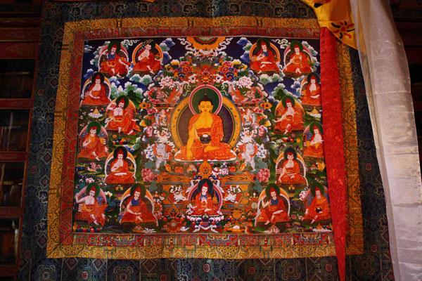 ... und mit jedem Besuch kommen wir dem tibetischen Buddhismus näher