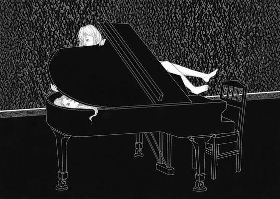ピアノ・レッスン ©2016 ako sato. all right reserved.