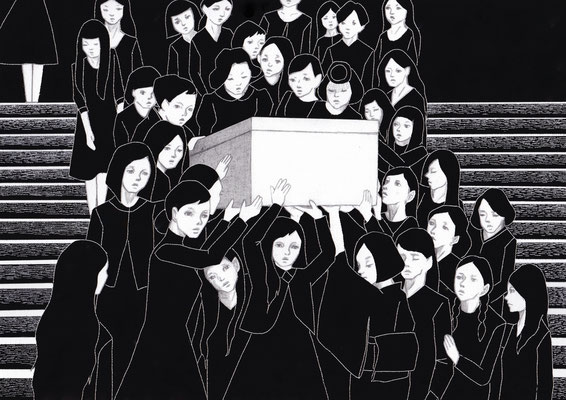 葬る ©2016 ako sato. all right reserved.
