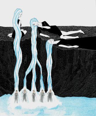 女の滝 ©2014 ako sato. all right reserved.