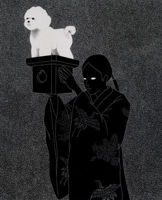 巫女と犬  Copyright (c) ako sato. all right reserved.