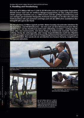 Praxiserfahrung in Ostafrika - Die Nikon D810 und das neue AF-S Nikkor 400mm @ bei Uwe Skrzypczak