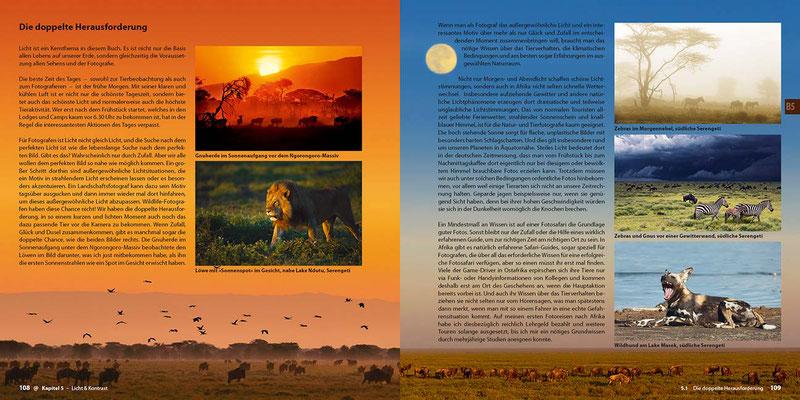 Abenteuer Safari-Fotografie von Uwe Skrzypczak im demipress Verlag