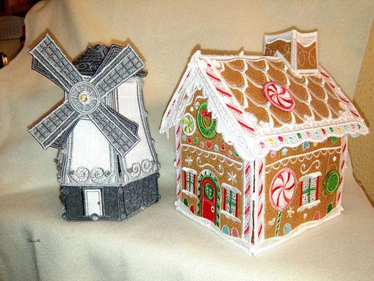 Windmühle und Lebkuchenhaus von OESD