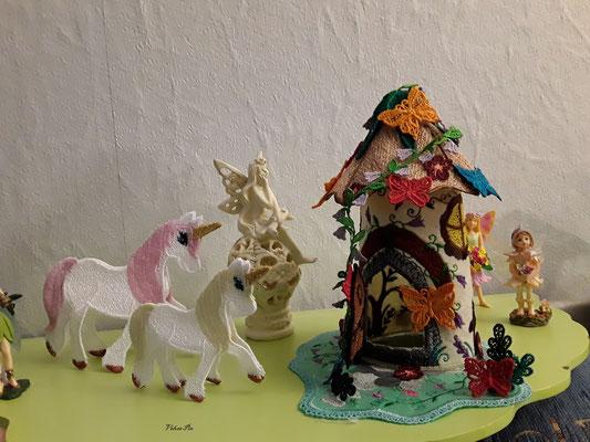 Butterfly House von TM-magisch. Die Unicorns sind etwas mißlungen